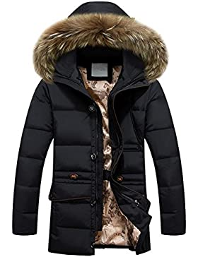 MHGAO Invierno Nuevo estilo de lana larga Padded Collar Capa Caliente , 1 , xxxl
