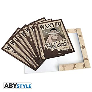 ABYstyle - ONE PIECE - Portfolio 9 posters wanted Characters # 2