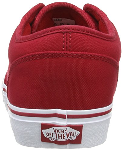 Vans - M ATWOOD (BUCK LEATHER)B, Sneaker basse Uomo Rojo - Rouge (Red/Wh)