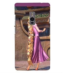 ColourCraft Cartoon Princess Design Back Case Cover for OnePlus Two
