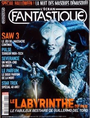 Labyrinth Halloween - ECRAN FANTASTIQUE (L') [No 269] du 01/10/2006