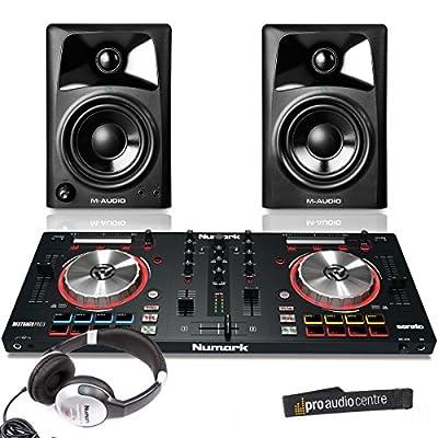 Numark MixTrack Pro 3 DJ Controller & M Audio AV32 Bundle