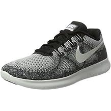 Nike »Wmns Free Run Flyknit 2017« Laufschuh, grau, grau-meliert