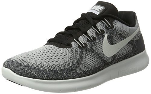 Nike Free Run 2017, Scarpe Running Donna, Multicolore (Wolf Grey/off White-pure Platinum-black), 38.5 EU