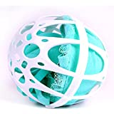 HuntGold Bubble Bra Bola de plástico para lavar sujetador y ropa interior de bebé
