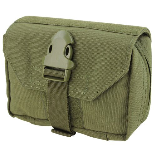 Horizontale Fashion Pouch (Condor First Response Tasche Oliv Drab)
