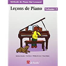 Méthode de piano Hal Leonard : Leçons de piano, volume 2