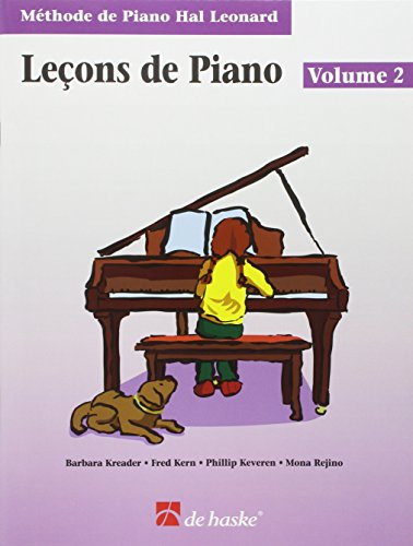 Piano Lessons Book 2 - French Edition: Hal Leonard Student Piano Library