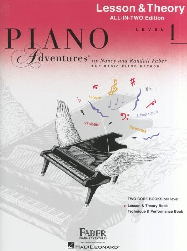 Piano Adventures: Lesson and Theory Book (Faber Piano Adventures)
