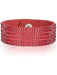 Rafaela Donata - Bracelet fashion cristal de verre - En différentes longueurs, bracelet cristal de verre - 60917072