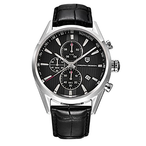 luxury brand pagani design chronograph watches men's business japanese quartz movement watch