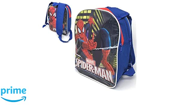 NEW OFFICIAL SPIDERMAN BACKPACK CHILDRENS SCHOOL BAG MARVEL AVENGERS SPIDERMAN