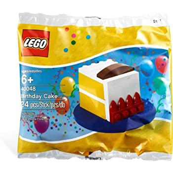 LEGO Creator Birthday Cake 80th Anniversary Limited Edition Set 40048 Bagged
