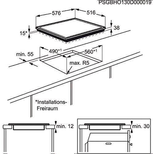 AEG HK 624000 X-B Kochfeld / Glaskeramik, elektrisch - 2
