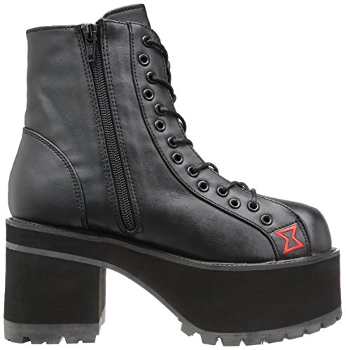 Demonia RANGER-108 Blk Vegan Leather