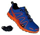 Bootsland 607 Neon Turnschuhe Sneaker Sportschuhe Herren, Schuhgröße:49