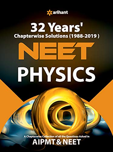 32 Years' Chapterwise Solutions CBSE AIPMT & NEET Physics 2020