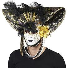 Andrea Moden 0494 2 de Luxe Máscara Veneciana 2ebf59702ab