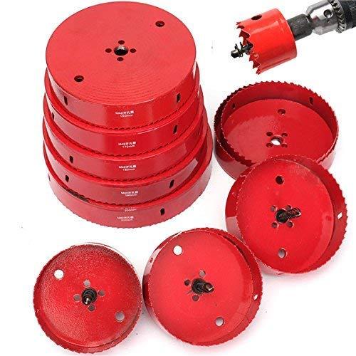 ChaRLes 110-200Mm M42 Hss Lochsäge Cutter Bohrer Bi Metallspitze Bohrer Für Aluminium Eisen Holz - 150mm