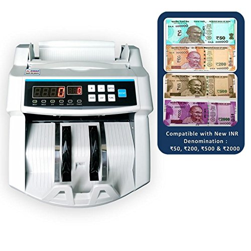 Xtraon Note Counting Machine with New Currency Detection  available at amazon for Rs.5110