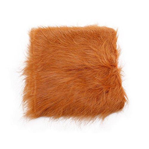 ncy Dress Up Outfit Halloween Kleidung Mähne Perücke für große Hunde ()