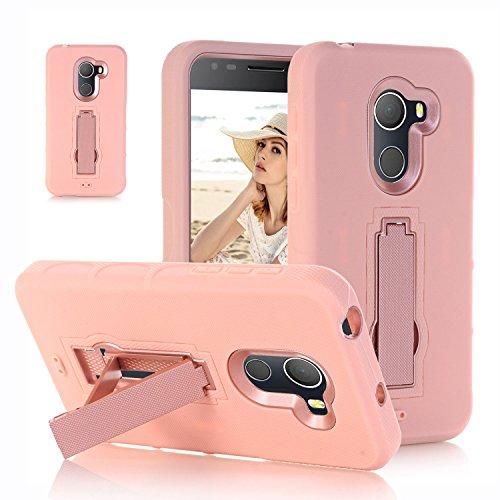 F&a® Festigkeit Smartphone Hülle mit Kickstand für Alcatel A30 Plus(3)