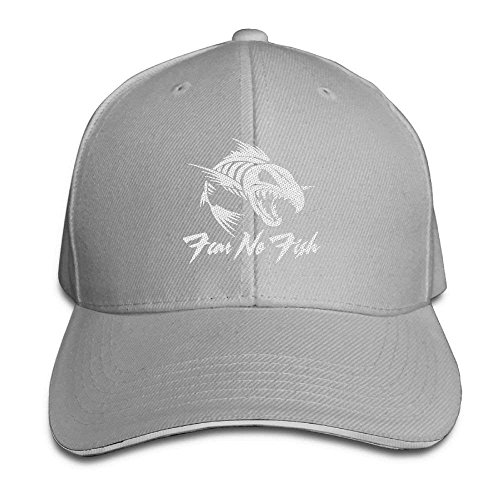 Hüte,Kappen Mützen Fear No Fish Unisex Embroidered Baseball Hat Visor Hats