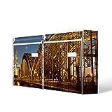 Burg-Wächter Briefkastenanlage, Design Bild Postkasten, Stahlblech weiß, MAIL 5877 W 72x32x10cm mit Motiv Köln
