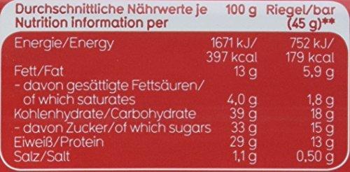 Veganz Bio Protein Bar Sweet Peanut, 6er Pack (6 x 45 g) - 3