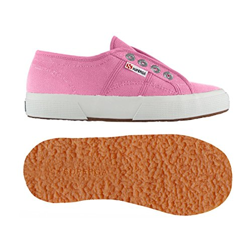 Superga 2750-COTJ SLIPON PINK BEGONIA Pink Begonia