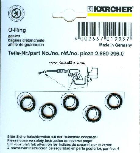 Kärcher 2.880-990.0 Lot de 5 joints toriques de rechange