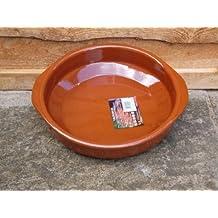 V.Arcos - Cazuela barro red. 28cm.