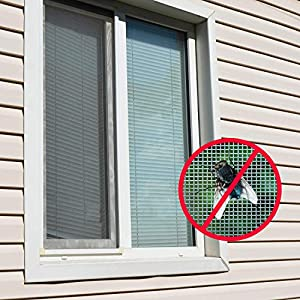 Kit di riparazione per finestre, 5 cm x 202 cm, nastro adesivo resistente in fibra di vetro, per riparare fori e strappi, per prevenire zanzare e insetti (1 confezione)