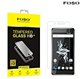 Foso(™) Oneplus X 2.5D Pro + Curved Edge 9H Hardness Toughened Tempered Glass Screen Guard Protector
