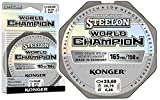 Konger, World Champion, lenza in fluorocarbonio, 0,10-0,30 mm/150 m, lenza monofilo super forte di alta qualità-, 0,28mm / 150m