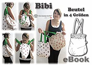 Bibi Beutelshopper Nähanleitung mit Schnittmusterauf CD für Tasche, Beutel, Shopper in 4 Größen