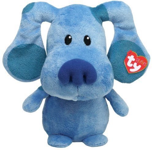 Ty Pluffies Blue Blue s Clue Nickelodeon Plush Soft Toy Blue by Ty Pluffies 3b487c7cbb9c