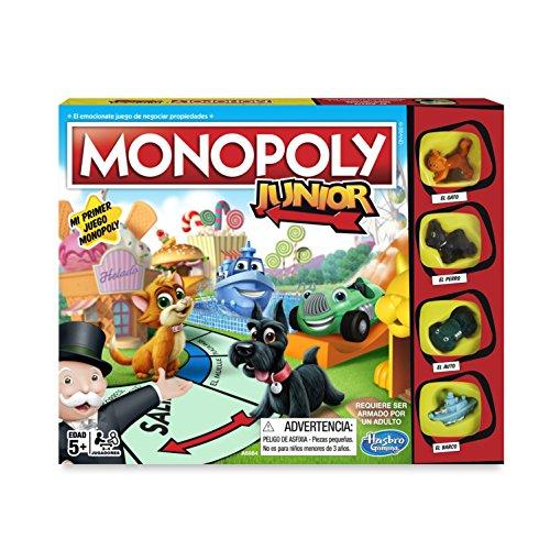 Hasbro Gaming - Monopoly Junior, versión Española (Hasbro A6984546)