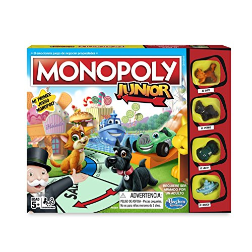 Hasbro Gaming-Monopoly Junior, spanische Version (Hasbro - Spanisch Monopoly