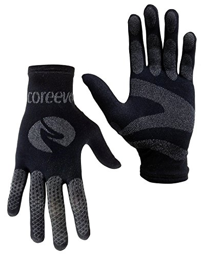 Coreevo - Glove, color black, talla S/M