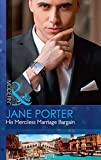 His Merciless Marriage Bargain (Conveniently Wed!) by Jane Porter front cover
