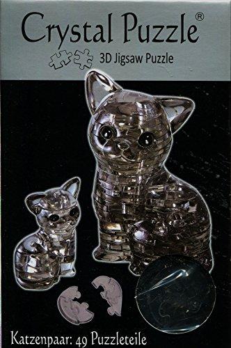 HCM Kinzel Jeruel 59127 - Crystal Puzzle, Katzenpaar