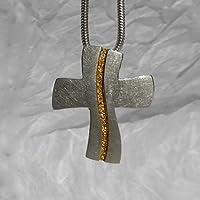 käte fraas Goldschmiedekunst Kreuzanhänger