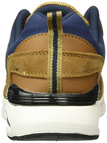 British Knights Demon, Baskets Basses Homme Bleu (navy/cognac)