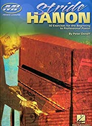 Stride Hanon: 50 Exercises for the Beginning to Professional Pianist (Musicians Institute Private Lessons) by Peter Deneff (2006-04-01)