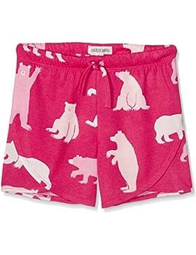 Hatley Mädchen Schlafanzughose Tween Fuchsia Bears Short