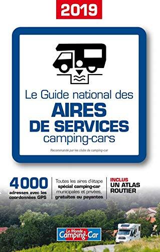 Le Guide National des Aires de Services Camping Car 2019