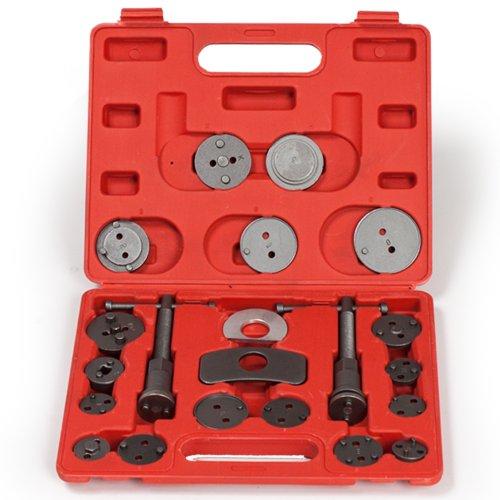 Preisvergleich Produktbild TecTake 22 TLG. Bremskolbenrücksteller Set Rückstellsatz Werkzeug mit Links- und rechtsdrehender Gewindespindel
