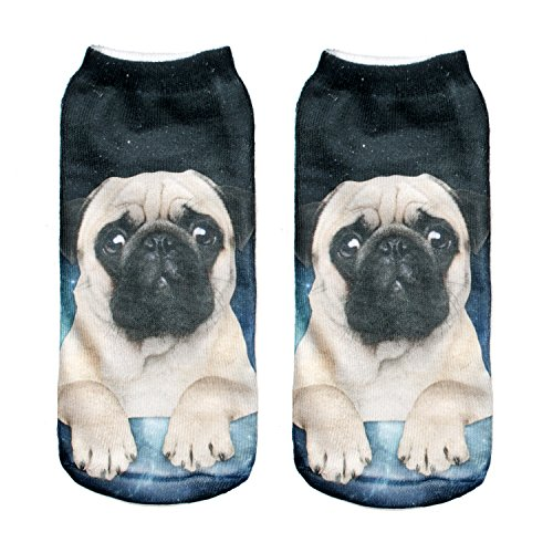 Women's Girls Men's Boys Full Print Socks Galaxy Design Fashion Low Ankle Summer Gym Yoga Fitness Running Socks