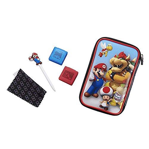 "Offizielles Nintendo New 3DS XL / 3DS XL - Zubehör-Set \""Official Essential Mario Pack\"" , Motiv: Bowser"